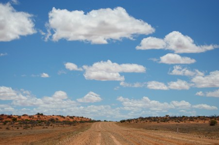 Sun's out on the Oodnadatta Track!