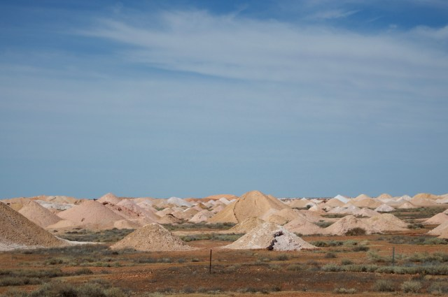 Opal mines outside Coober Pedy.