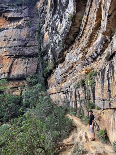 Cliffside walk.