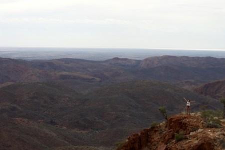 Me on the Acacia Ridge summit.