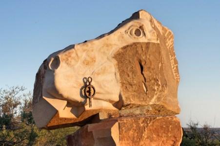 One of the Broken Hill Sculptures.