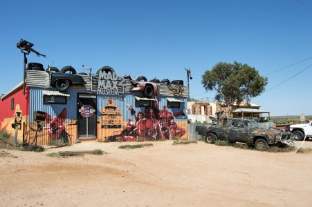 The Mad Max 2 Museum.
