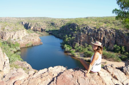Made it to the top of Katherine Gorge!