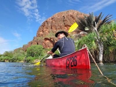 Morning paddle.