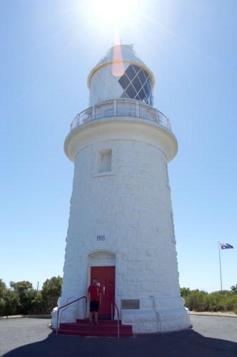 Cape Naturaliste Lighthouse.