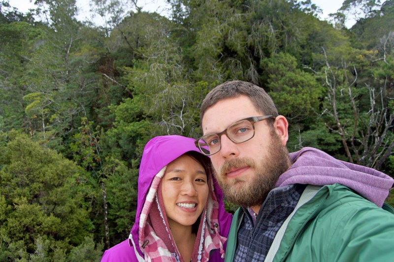 Wilderness selfie.