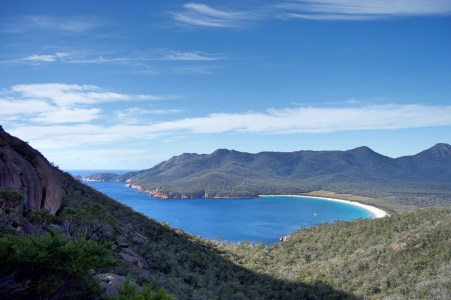 Freycinet Bay from above.