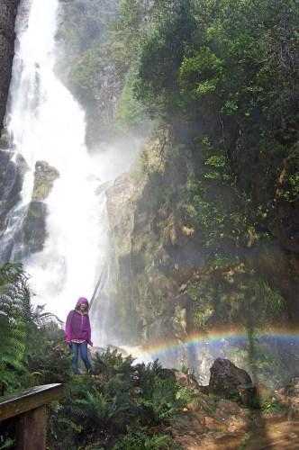 Rainbow at Montezuma Falls.