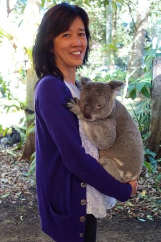 Rita and koala.