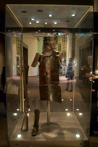 Ned Kelly's armour!