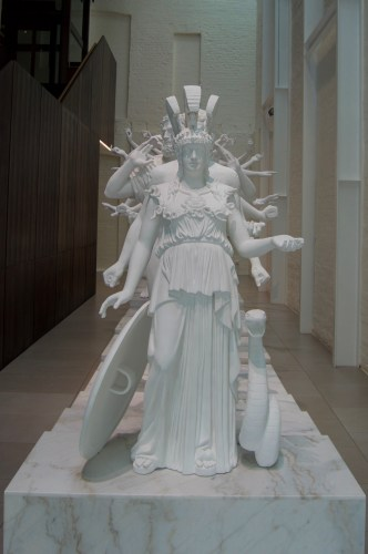 Thousand-Armed Sculpture.