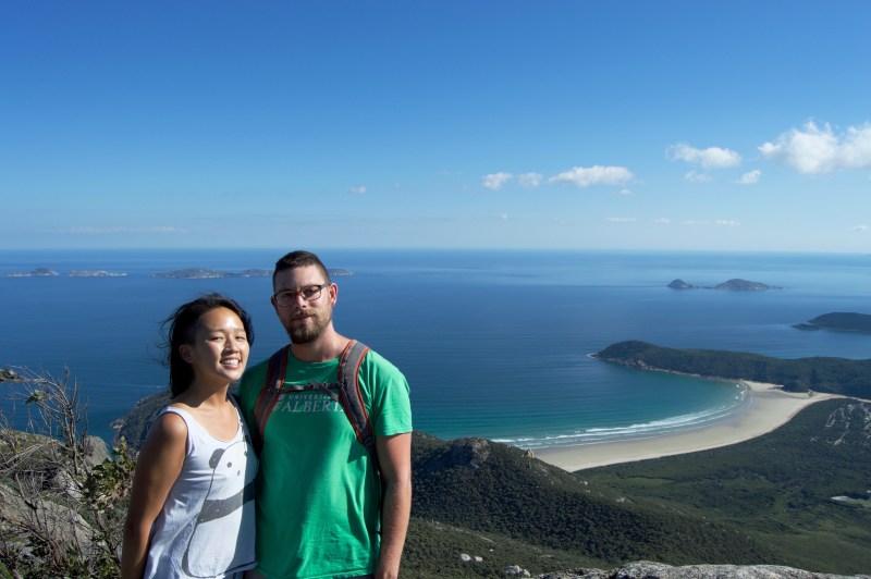 At the top of Mount Oberon!