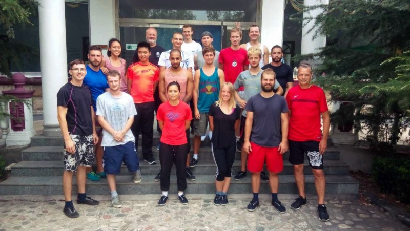 Kung fu school crew, week one.