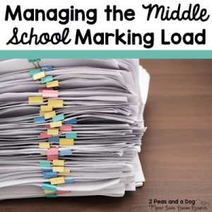 Managing the Marking Load