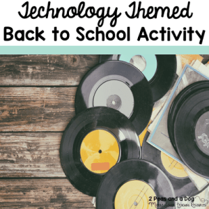 Technology Themed Get To Know You Activity