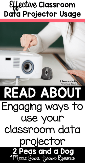 Data projectors are a great classroom technology tool for any classroom. See how to make the most of this amazing tool from the 2 Peas and a Dog blog.