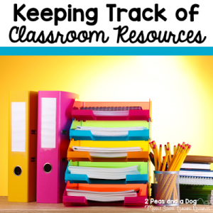 Keep Track Of Classroom Resources