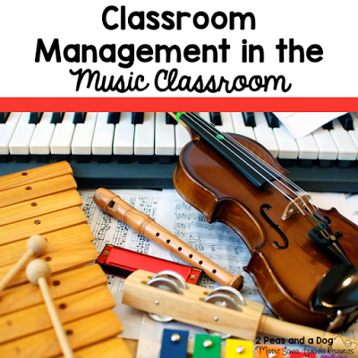 Classroom management and organization tips and ideas for the instrumental music classroom.