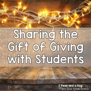 Help Students Think About Giving Instead of Getting