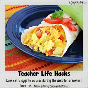 Teacher Life Hacks Breakfast Food