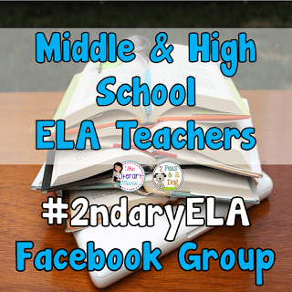Don't be an island! Join other middle and high school ELA teachers in this collaborative Facebook group.