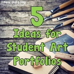 Storing Student Art