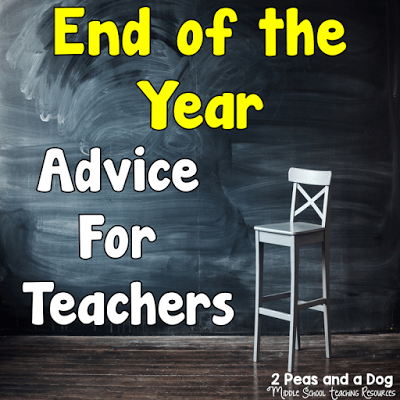 End of the year strategies, ideas and lessons from the 2 Peas and a Dog blog.