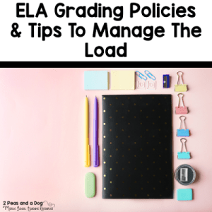Grading Policies and Tips in the English Language Arts Classroom