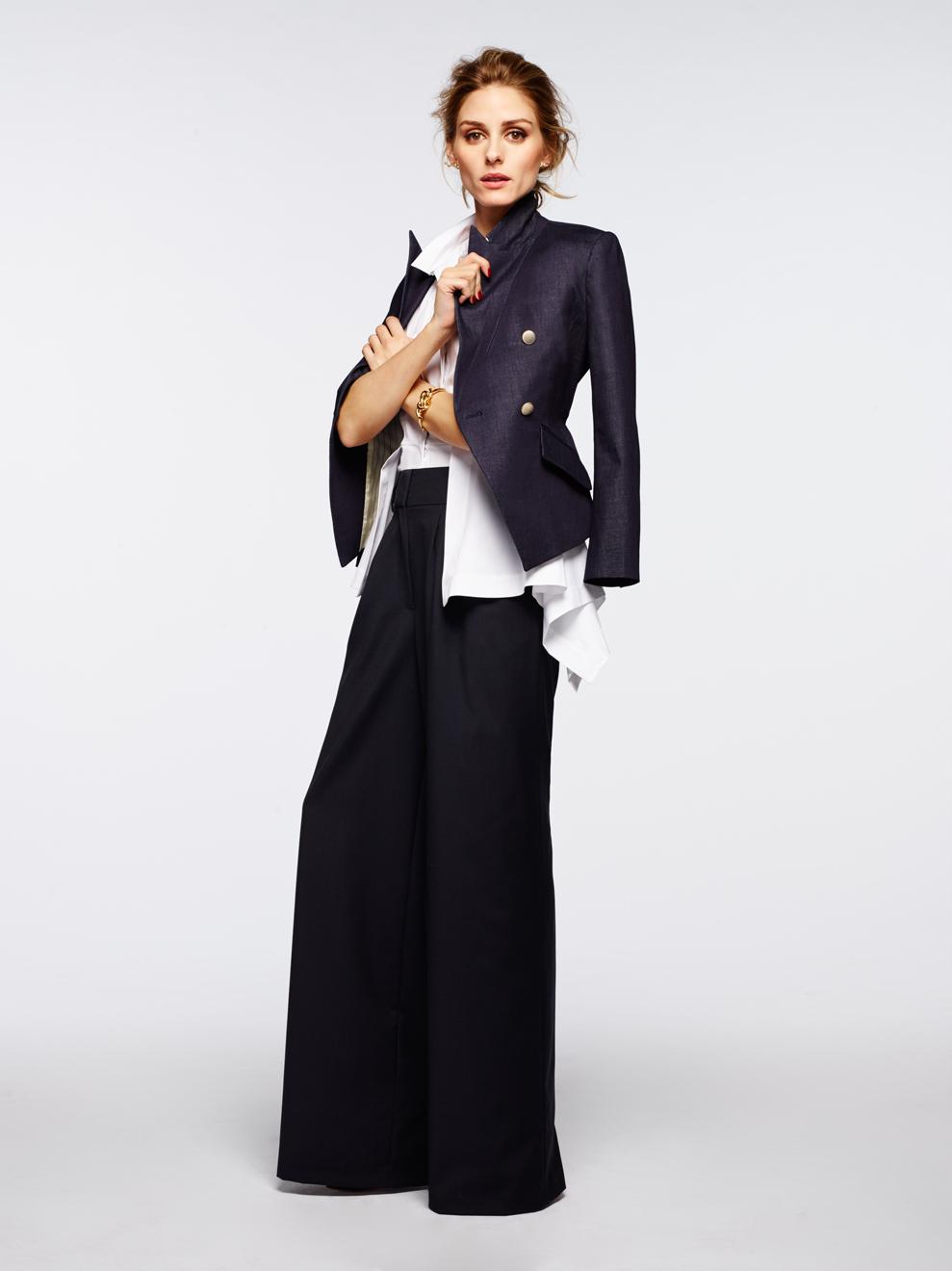 Olivia-Palermo with blazer