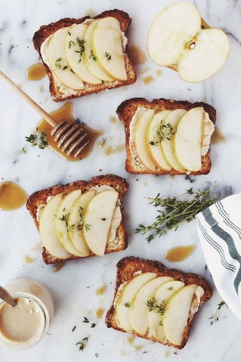Apple honey toast breakfast inspiration