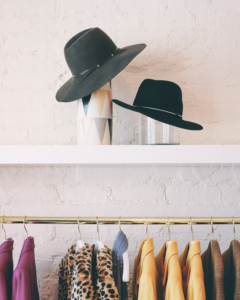 wide-brimmed hats storage