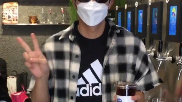 [SNS] 201009 BREWANTS COFEE社長(ウヨンの釜山の友達) Instagram
