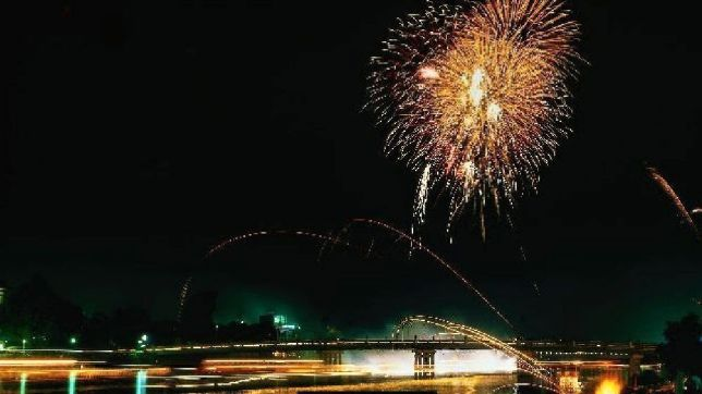 sentou-sai fireworks