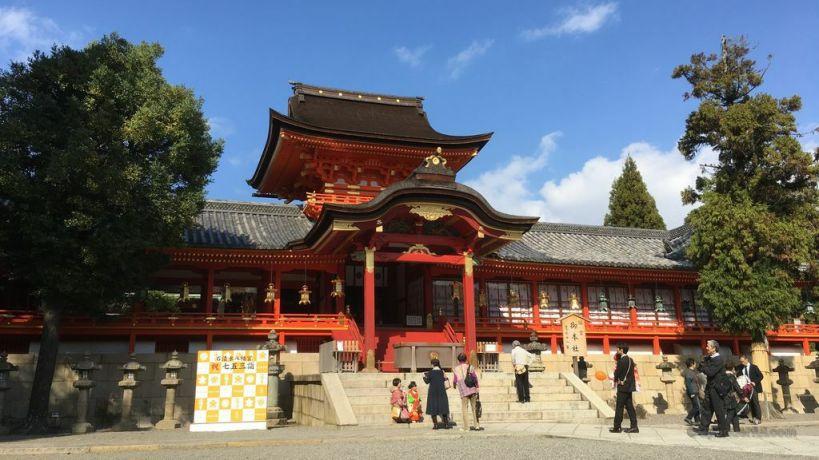 iwashimizu hachiman-gu