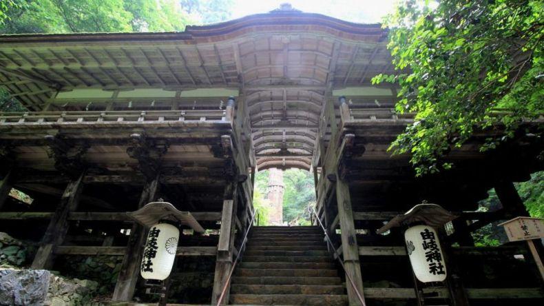 yuki jinja front shrine