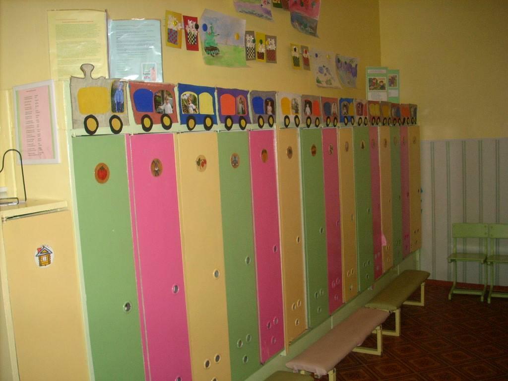 Очкарик, рисунок на шкафы в приемной детского сада
