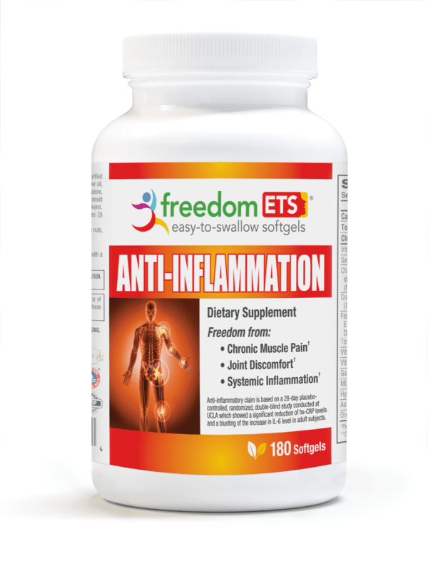 Freedom Anti-Inflammation ETS Softgels®