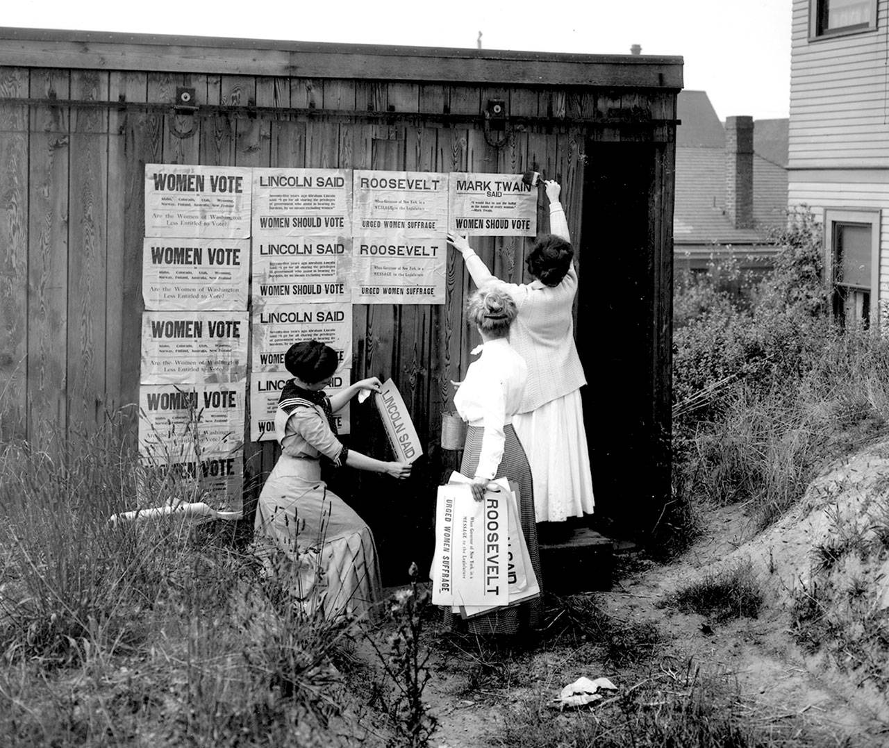 A Century Later History Of Women S Suffrage Shows In
