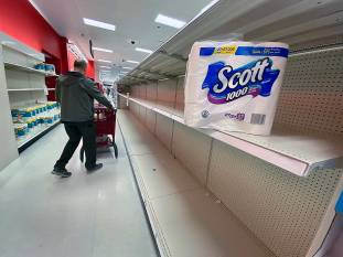 Coronavirus sparks rush on toilet paper — and condoms? | HeraldNet.com