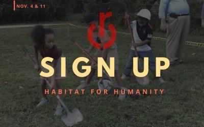 Habitat Sign Up