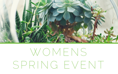 "Women's Spring Event: ""All Things New"""