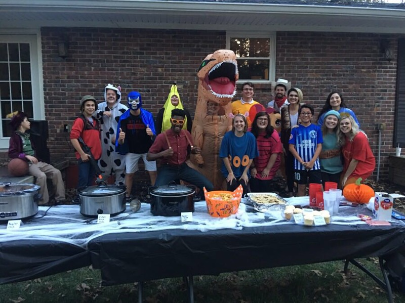 Student Ministry Halloween Party