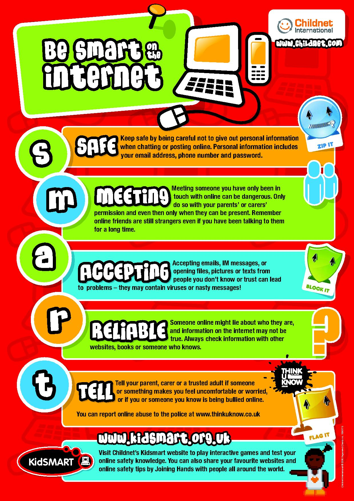E Safety Guidelines