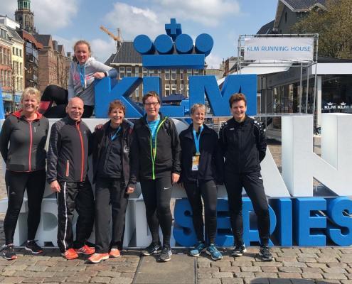 Deelnemers urbantrail Groningen 2run4health&fun