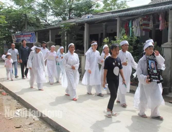 Image result for đám táng Quang