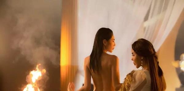 Thủy Tiên nude táo bạo, khoe vòng 3 trong MV tái xuất làng nhạc-3