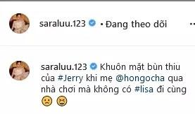 Sara Lưu tiết lộ quý tử được Hồ Ngọc Hà nhận làm rể-7