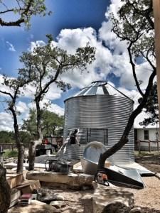 Assembling Grain Bin