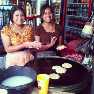 Fresh Tortillas everywhere!