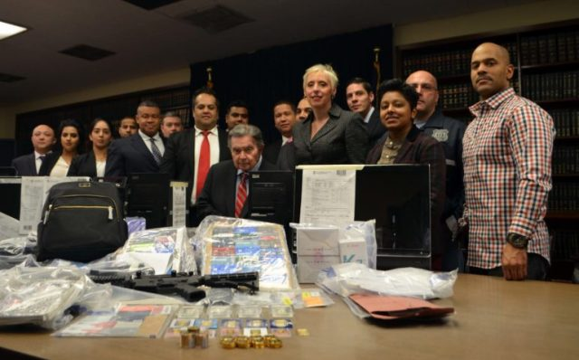 Photo courtesy of Queens District Attorney's office
